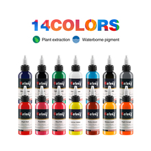 Solong Second Generation Newest High Quality Solong Tattoo Ink 14 Colors Set 1oz 30ml/Bottle Tattoo Pigment Kit TI302-30-14 цены
