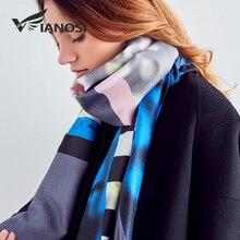 VIANOSI  nouvelle conception foulards femmes 2018 automne et hiver écharpe  marque Foulard Femme qualité supérieure châle doux B.. ef8c9cfd17a
