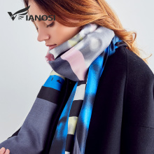 [VIANOSI] Newest Design Scarves Women 2018 Autumn And Winter Scarf Brand Foulard Femme High Quality Shawl Soft Bandana