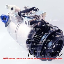 Auto A/C AC Compressor For BMW X3 2.0 Diesel Air Conditioning With Cluth ASSY Bmw