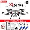 Syma X8C X8W X8G 2.4G 4ch 6-Axis RC Helicopter Drone With FPV WIFI Wide Angle Headless 5MP/2MP HD Camera Dron Toys Quadcopter