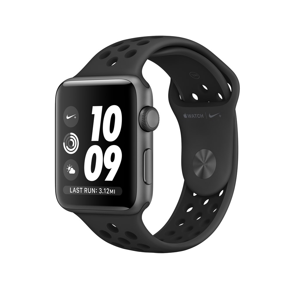 Apple Watch Nike+, OLED, Touchscreen, GPS (satellite), 18 h, 32.3 g, black