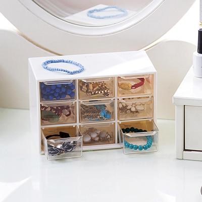 Bizhuteri e llojit sirtar me kuti katrore Transparenca modë që - Magazinimi dhe organizimi në shtëpi - Foto 2