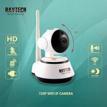 Daytech домашняя охранная ip-камера Wi-Fi камера беспроводная компактная камера видеонаблюдения 720 P ночное видение CCTV камера детская камера DT-C8815