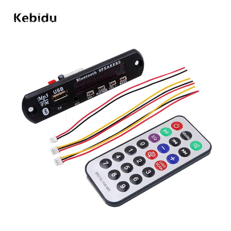 Gastfreundlich Kebidu Drahtlose Bluetooth 12 V Mp3 Wma Decoder Board Audio Modul Usb Tf Radio Für Auto Zubehör Verschiedene Stile Tragbares Audio & Video