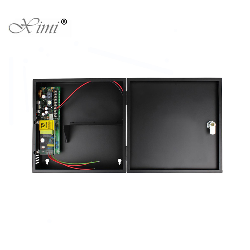 DC12V/24V New Door Access Control System Switch Power Supply 3A/AC 110~240V With Back Up Battery Function