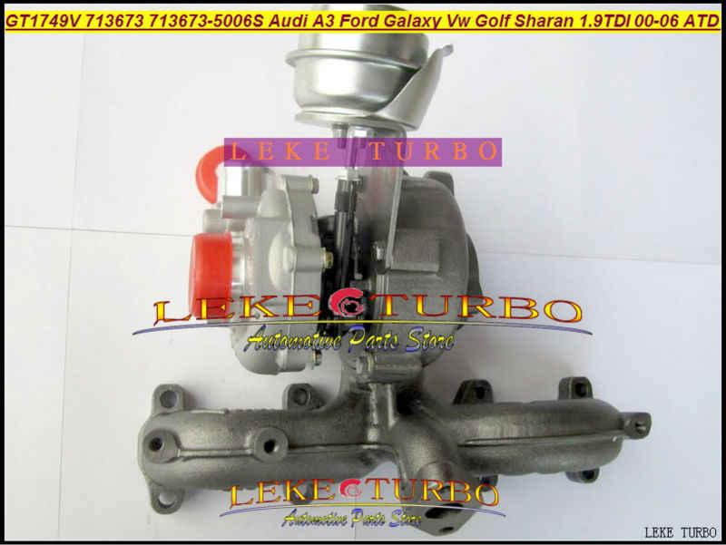 Бесплатная доставка TURBO Ремкомплект 713673-5006 S 713673 турбонаддув для Audi A3 для Ford Galaxy VW Golf Octavia I 1.9L ATD AUY