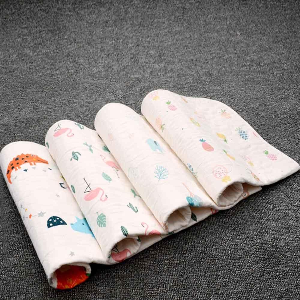 Baby Changing mat Infants Portable Foldable Washable Waterproof Mattress Cartoon Changing Pad Floor mats Cushion Reusable Diaper