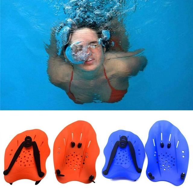 Adjustable Swimming Hand Paddles for Training