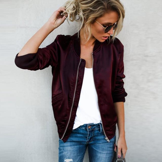 2017 New Autumn Women Jacket