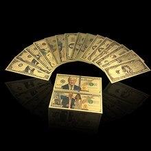 03b3a3bec2ed3b Amerykańska pamiątka prezent oryginalny 24 K kolorowe pozłacane banknotów  fałszywe USD dolar pieniędzy(China)