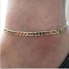 Hot ! Superior Sexy Shiny Women Chic Gold Chain Anklet Bracelet Foot Bangle  May 28