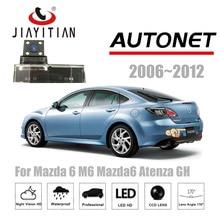 Câmera Traseira Para Mazda 6 Mazda6 M6 Atenza GH JiaYiTian 2006 ~ 2012/backeup Estacionamento Câmera/CCD/câmera de Visão noturna Placa de Licença