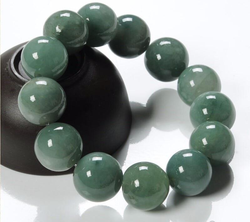 Chinese 100% Natural /Jadeite Beads Bracelet/ String Bracelet