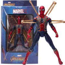 Avengers Marvel Spider-Man Toy Hero Doll Model Character Action Model Pvc Collection Decoration Children Gift for Children marvel universe hero pa change peter jackson s king wolf joint diy do model doll goods of for display rather for toys gift
