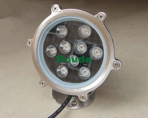 led underwater lights for boats 9w led lamp taiwan led chips epistar 110-120lm/w 24V pure white warm white red blue green ect 1w led bulbs high power 1w led lamp pure white warm white 110 120lm 30mil taiwan genesis chip free shipping