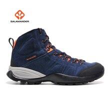 Salamander Для мужчин открытый зимний Пеший туризм походы Сапоги и ботинки для девочек Обувь Спортивная обувь для Для мужчин спорт Альпинизм горный Сапоги и ботинки для девочек Обувь тапки человек