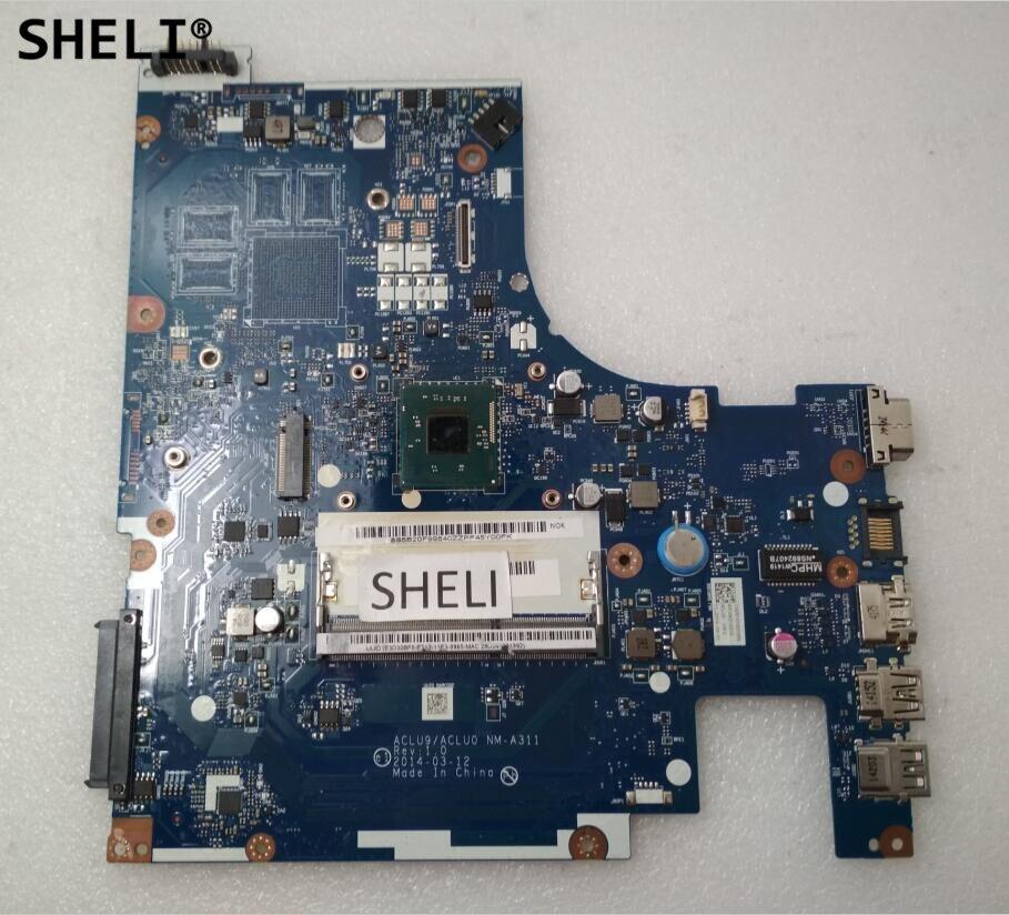 SHELI NM-A311 pour Lenovo G40-30 carte mère avec N2830 CPU ACLU9 ACLU0