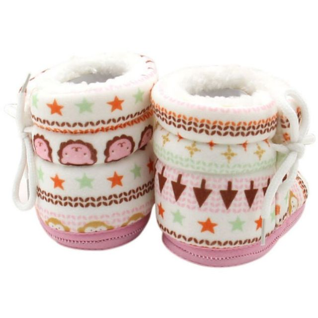 2018 Baby Shoes Toddler Shoes Girl Boy Winter Baby Boots Warm Fleece Children Kids Snowboots bebbe shoes