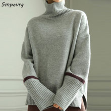 knitted thick knitted long