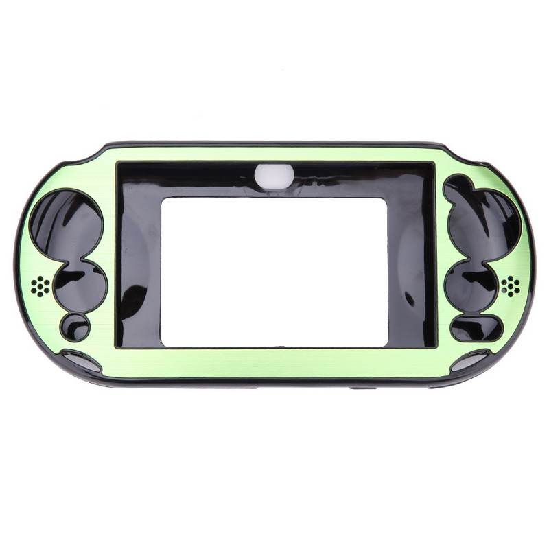 Golden Metal Skin Case Cover Schutz für Sony PS Vita 2000 PSV PCH-2000