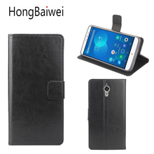 HongBaiwei bags for PPTV King 7 Case Cover Luxury Leather Crazy Horse Flip Wallet Phone Bag Case for PPTV King 7 7S PP6000