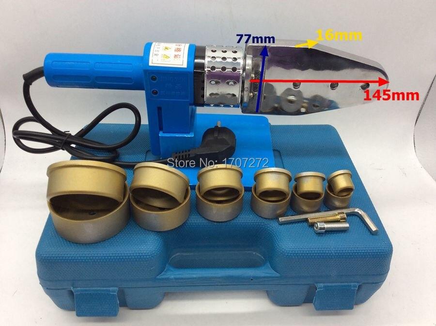 Freies shippng Konstante Temperatur Elektronische PPR Schweißgerät, kunststoff schweißer AC 220 V 800 Watt 20-63mm schweißen rohre