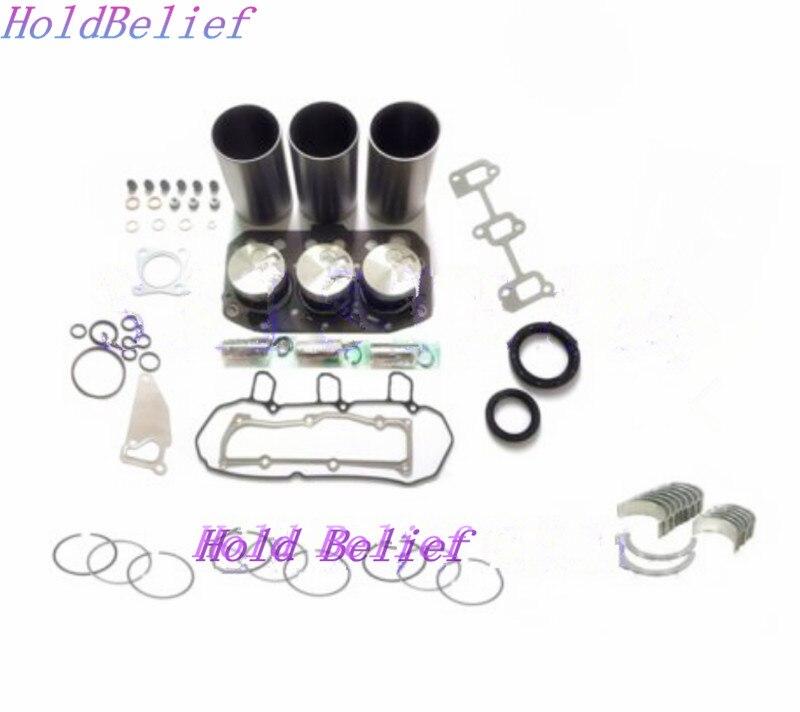 3TN75-RJ 3TN75L 3TN75 Revisione Ricostruzione kit Per Yanmar Motore Per John Deere 855 856