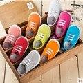 Envío libre Del Niño Del Bebé zapatos de lona ocasionales de primavera y otoño Los Niños zapatos de Bebé muchachos Del Niño zapatos de Bebé Zapatos de las muchachas 1
