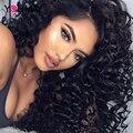 360 Lace Front Human Hair Wigs Brazilian Virgin 360 Lace Frontal Wig 180 % Deep Wave Full Lace Human Hair Wigs For Black Women
