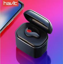 Havit-I3S Bluetooth V4.1 Earphones Wireless Sports Ephones Waterproof Stereo with Microphone Charging Box