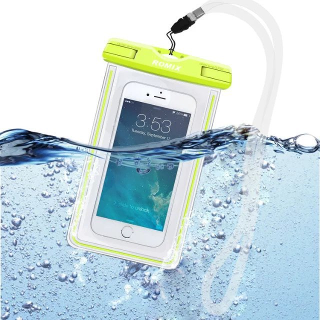 Original Romix Fluorescent Waterproof Pouch Universal Cell Phone Carrying Cases Bag On Aliexpress Alibaba Group