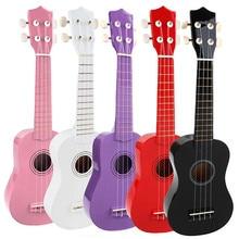 "Zebra 21"" 4 Strings Colorful Linden Plywood Ukulele Acoustic  Electric Guitar For Musical Instrument Bass Guitar Learner Lover"