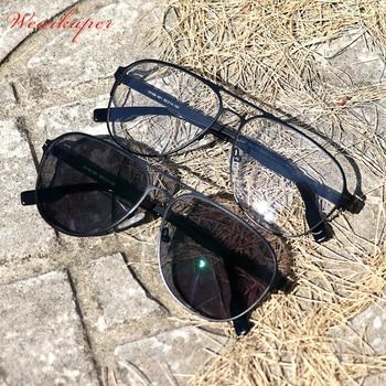 8fe1c23f14 Alemania único No diseño de tornillo fotocromáticos lentes bifocales gafas  de lectura hombres miopía gafas para hombre gafas dioptrías 1,0-3,0