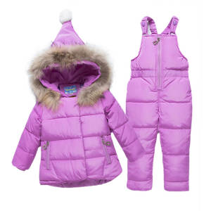 Kabeier Suit Winter Children Clothing Set for Girls Infant