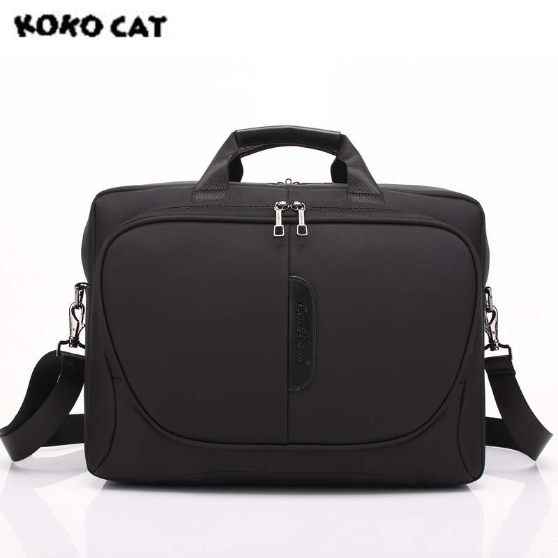 2017 KOKOCAT Fashion 15.6 inch Notebook Computer Laptop Handbag for Men Women Briefcase Messenger Solid Bags 4 Colors 5001 цена 2017