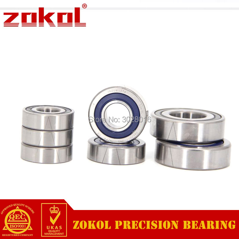 ZOKOL bearing 7602020 TN 2RS P4 TBT C 760204 2RSTBT Axial Angular Contact Ball Bearing 20*47*14mm stainless steel angular contact ball bearing 7204 s7204 size 20 47 14mm