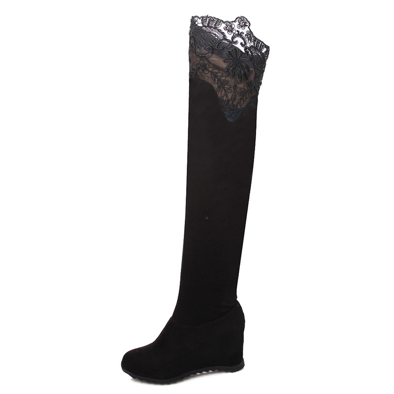 Online Get Cheap Thigh High Wedge Boots -Aliexpress.com | Alibaba ...