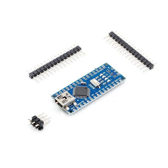 Nano Mini USB con el cargador de arranque compatible Nano 3,0 controlador CH340 controlador USB 16Mhz Nano v3.0 ATMEGA328P