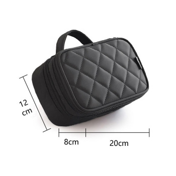 Brand organizer cosmetic bag double waterproof Makeup bag travel organizer cosmetologist case multi-function storage bag QE128 2