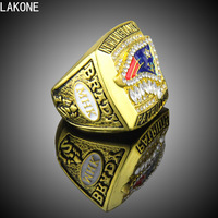 LAKONE Champions Ring Tom Brady 2011 New England Patriots AFC Championship Ring Sports Fans Ring Men
