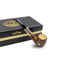 Electronic Cigarette EPipe 618A Kit E Pipe 618A Vapor Smok With Wood Built In One Battery