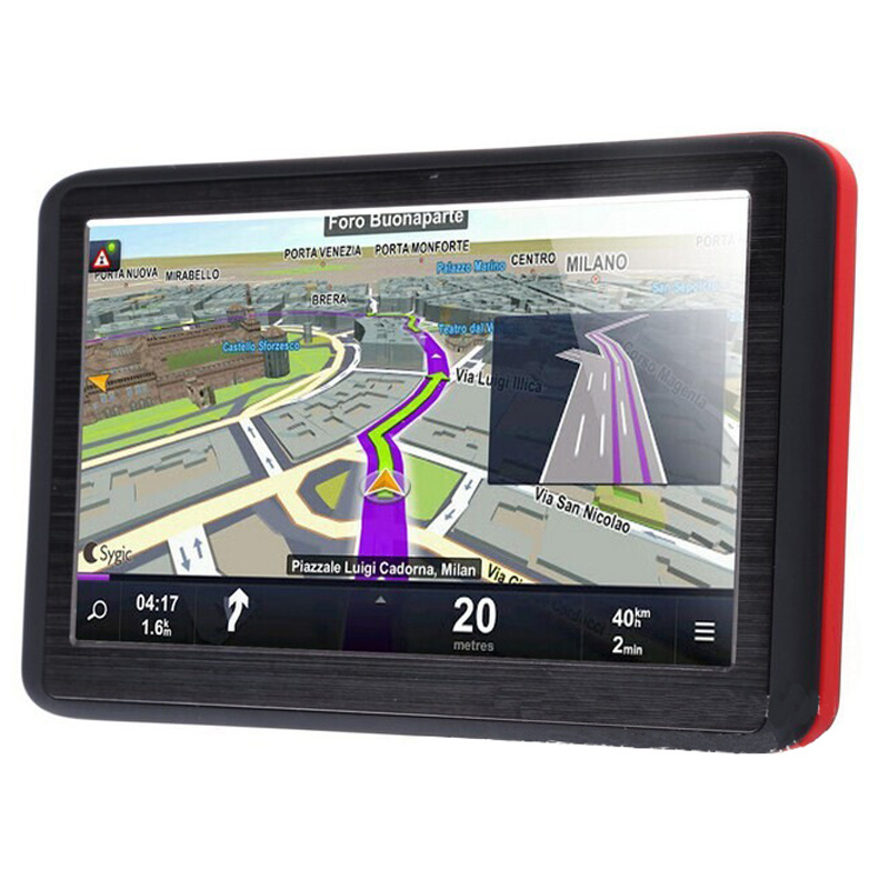 5 inch auto GPS navigation 128 MB Navitel Free maps FM Windows Reverse video AV-IN Built-in memory: 4G FM fm 906 7x17 5x114 3 et35 d67 1 mb