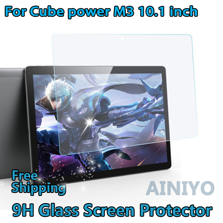 Tablet Tempered Glass Screen Protector Cover For Cube iPlay 10