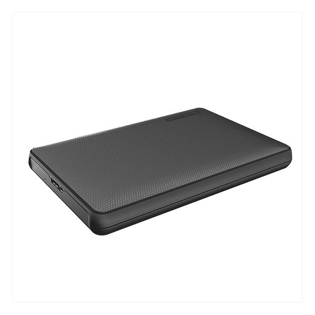 "Hard Drive Enclosure, Portable HDD Box SATA to USB 3.0 Adapter  for  2.5"" External SSD HDD Case"