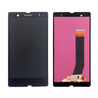 For Sony Xperia Z L36h C6603 C6602 LCD Display Touch Screen Sensor Phone Accessories With Free Shipping And Gift Tools
