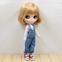 ICY Neo Blythe Doll Short Golden Hair Regular Body 28cm