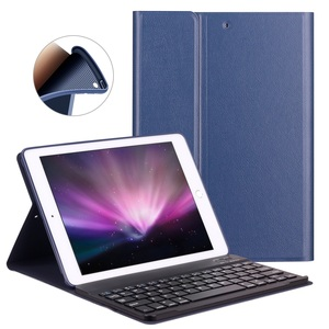 Image 2 - Keyboard Case For iPad 2018 Air 2 / Air 1 / for iPad 2017 2018 Case 9.7 Silicone Soft Back Inside Smart Cover Multi Angle Stand