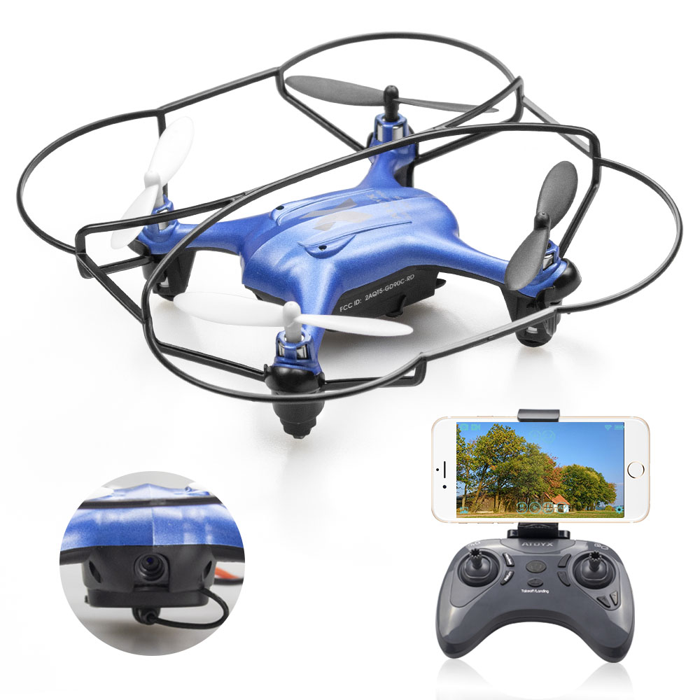 ATOYX Camera Drone With Camera HD 4k Mini Drone RC Quadcopter FVP WIFI With Wide Angle HD High Headless Altitude Hold Mode-in RC Helicopters from Toys & Hobbies