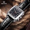 Männer Quarz Militär Uhren Echtem Leder Kleid Armbanduhr Mann Uhr Relogios Masculino Chronograph Casual Stoppuhr 2028 Schwarz